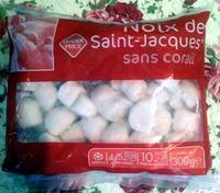 Noix de Saint-Jacques sans corail - surgelé - Product