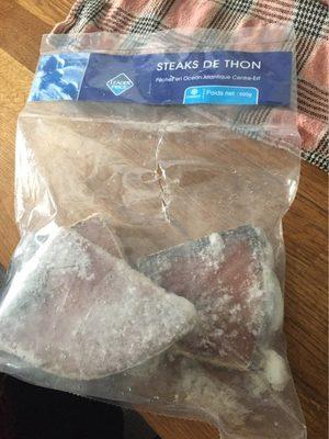 Steaks de thon albacore - Prodotto - fr