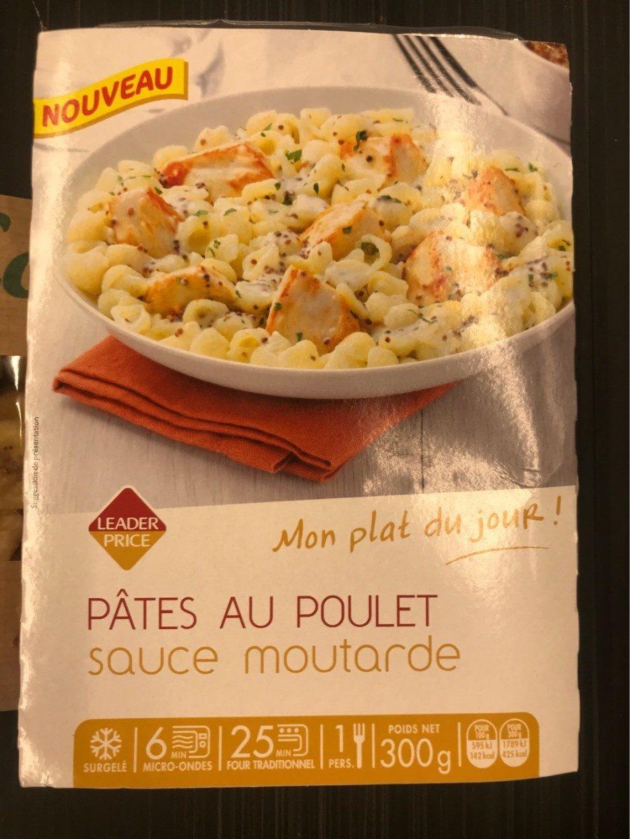 Pâtes au poulet sauce moutarde - Product