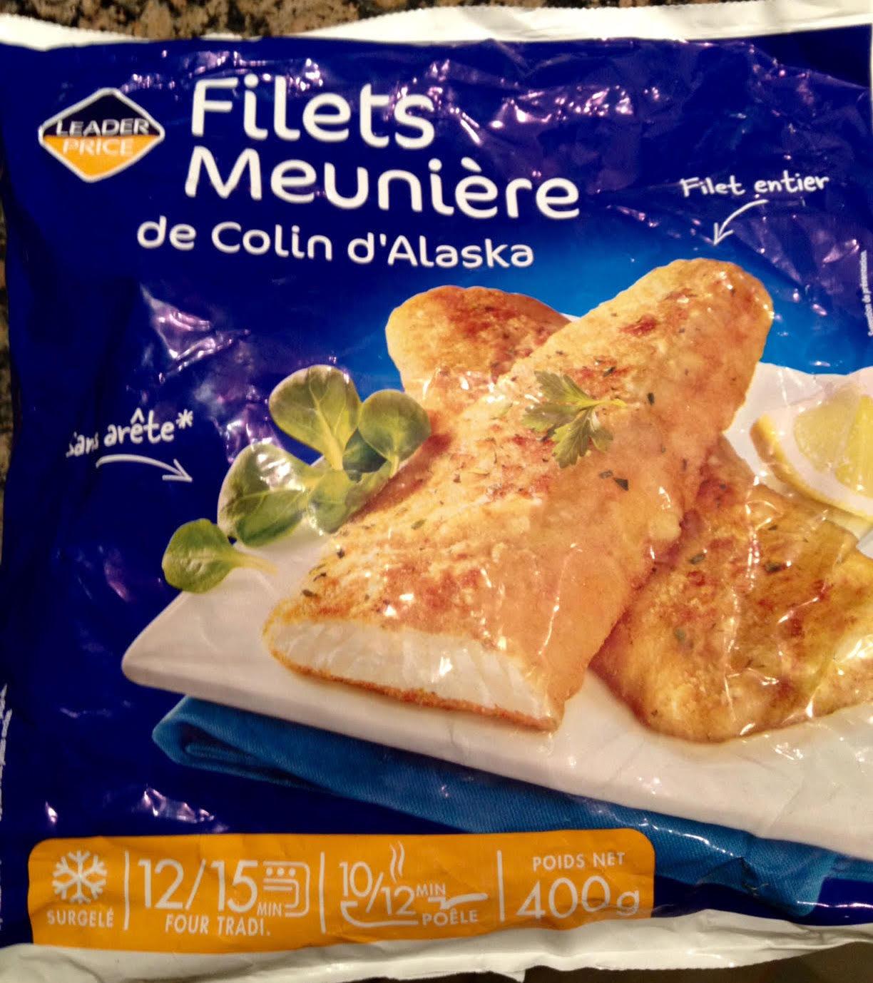 Filets Meunière de Colin d'Alaska - Product