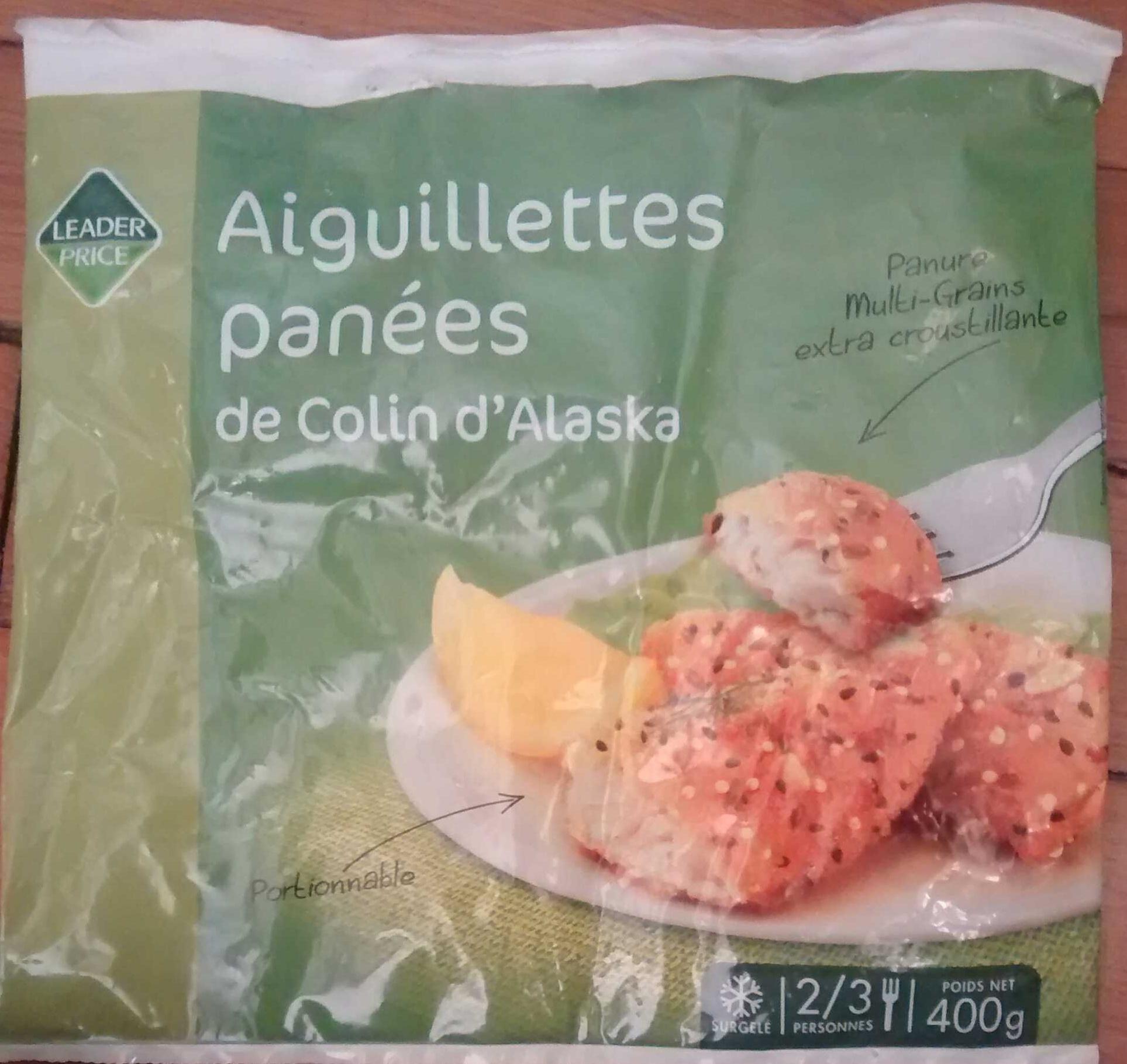 Aiguillettes panées de Colin d'Alaska, Surgelé - Product - en