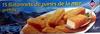 15 Bâtonnets de panés de la mer préfrits, Surgelé - Produit