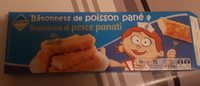 Bâtonnets de poisson  pané - Produit