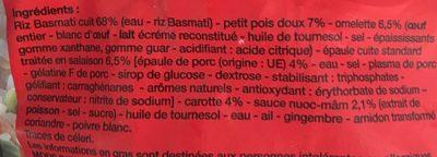 Riz à la Cantonaise - Ingredients - fr