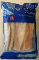 Filets de Colin d'Alaska - Produit - fr