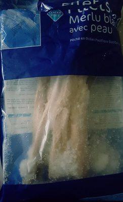 Filets de Merlu Blanc avec Peau - Produit