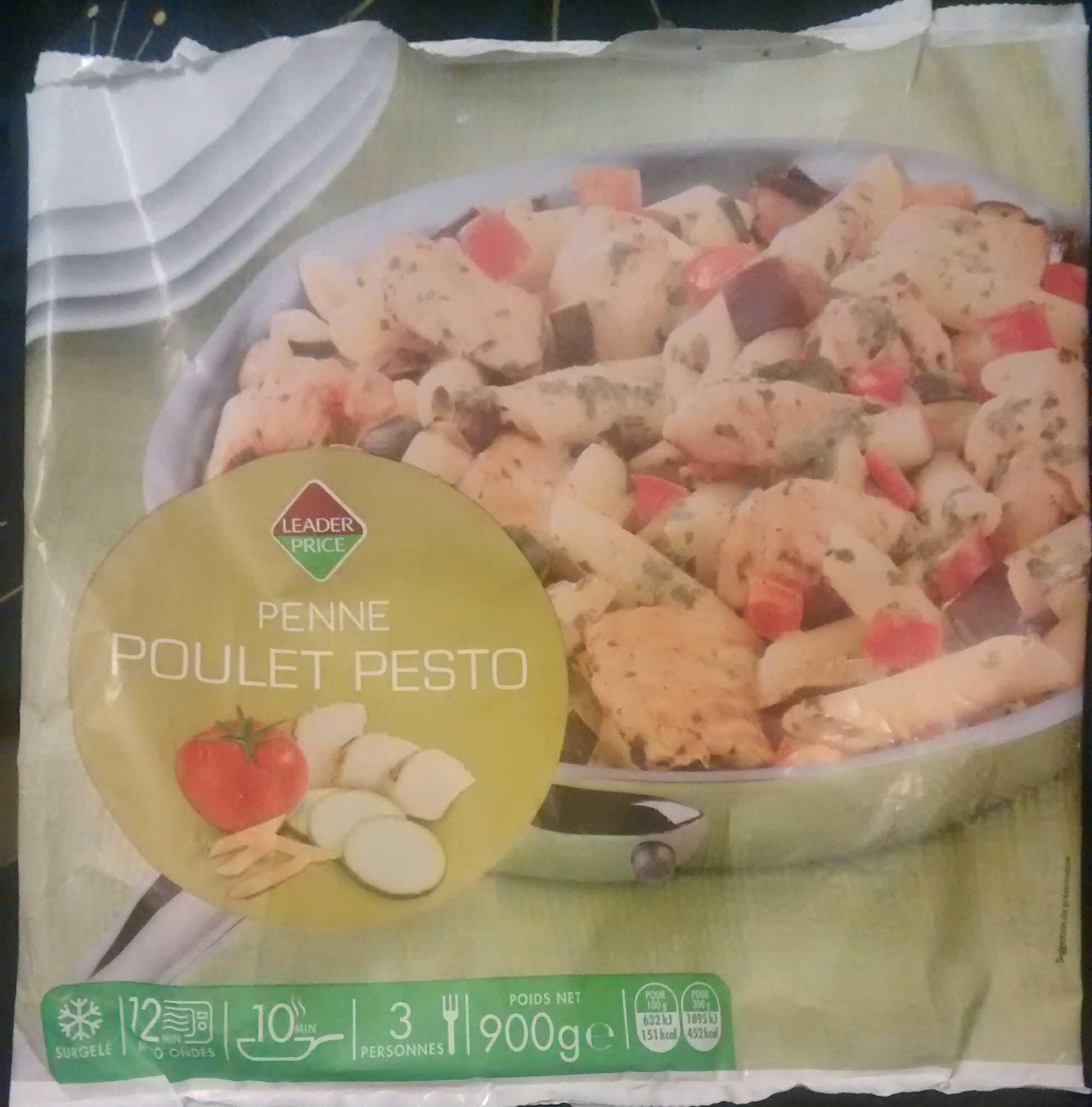 Penne Poulet Pesto, Surgelé - Produit - fr