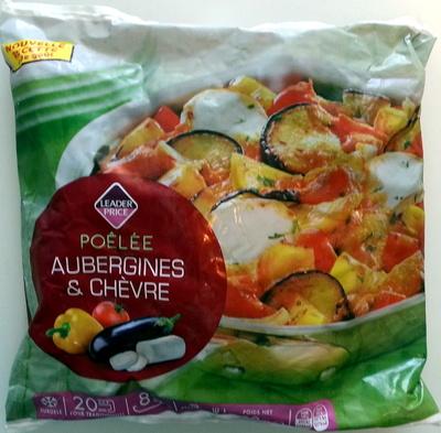 Poélée aubergines et chèvre - Produit