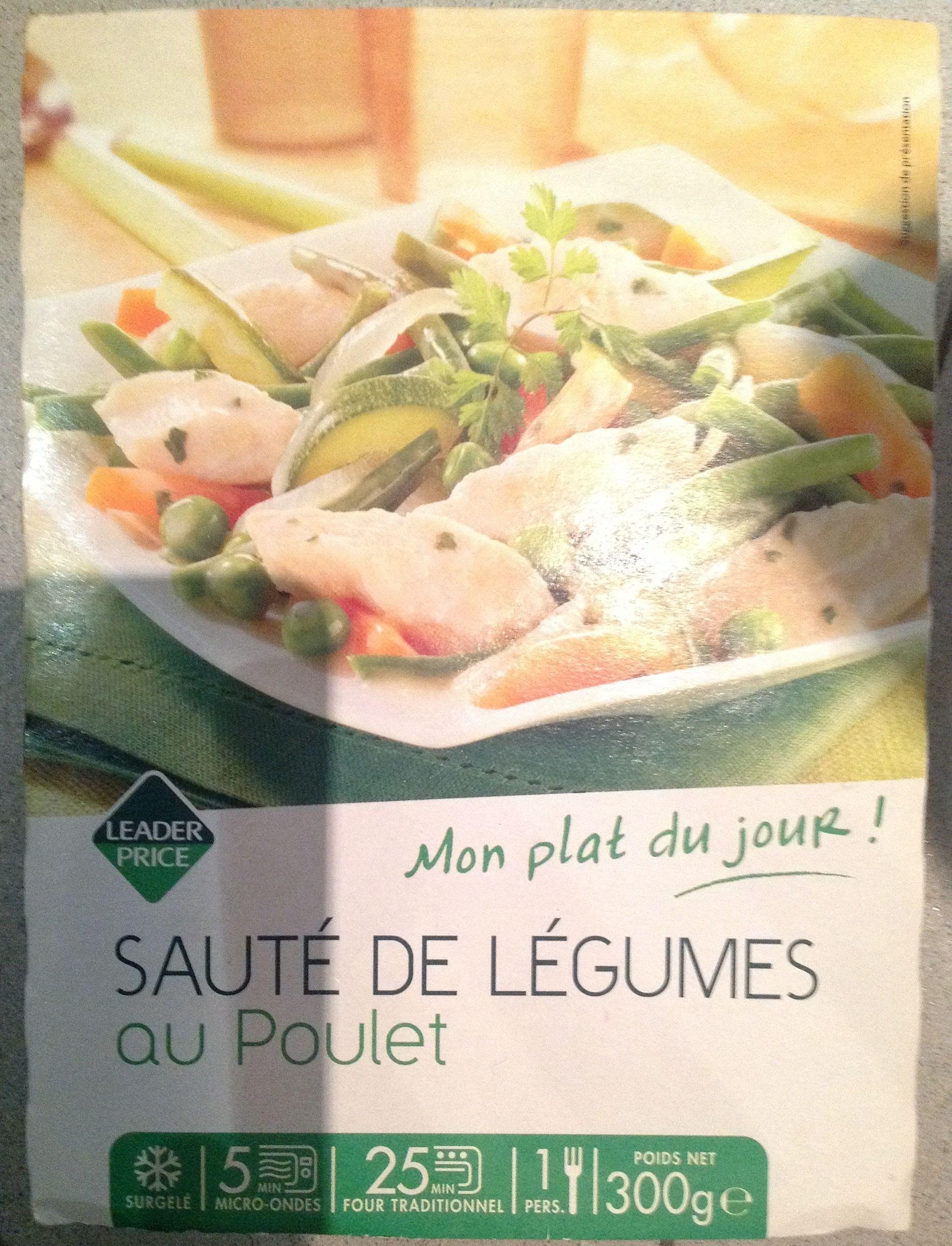 Sauté de légumes au poulet - Produit