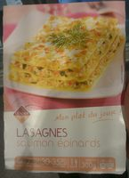Lasagnes Saumon Épinards - Product - fr