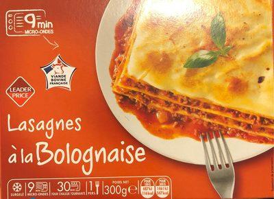 Lasagnes à la Bolognaise, Surgelé - Produit - fr