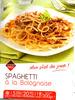 Spaghetti à la Bolognaise - Product