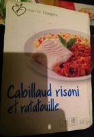 Cabillaud risoni et ratatouille - Product