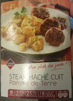 Steak Haché Cuit et Pomme de Terre - Produit