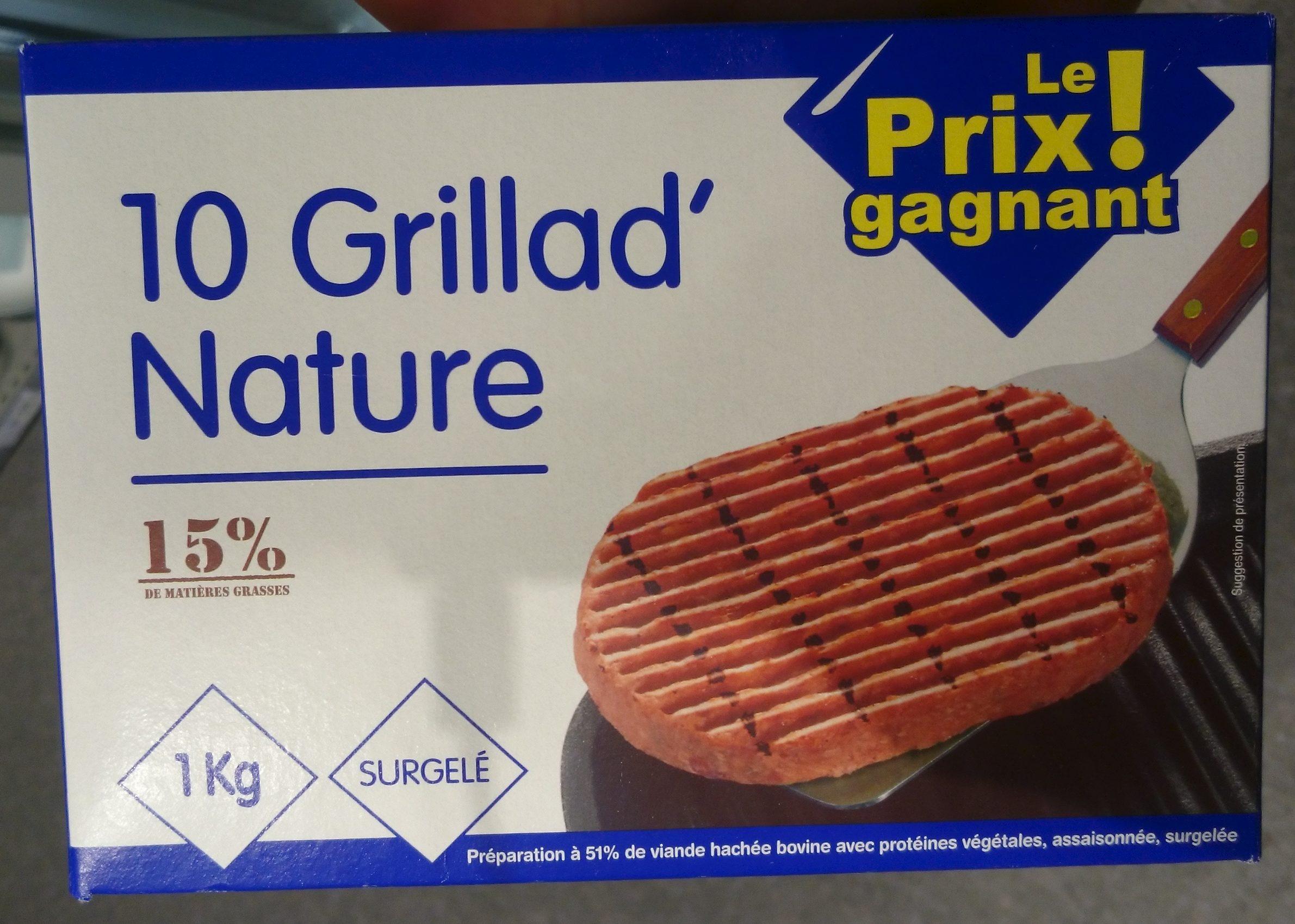 10 Grillad' Nature - Produit