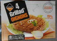 4 Grillad' Oignons - Produit