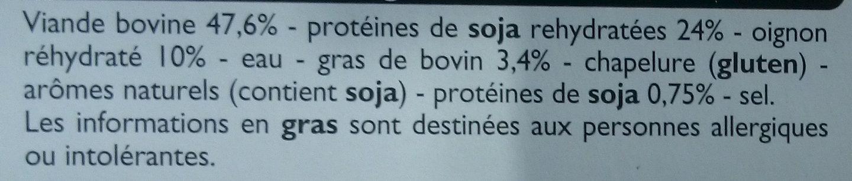 4 Grillad' Oignons - Ingrédients