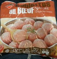 Boulettes au Bœuf Nature - Produit