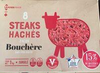 Steaks hachés façon bouchére - Produit - fr