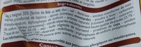 Crousty de Poulet - Ingrediënten