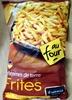Pommes de terre Frites au four - Produit