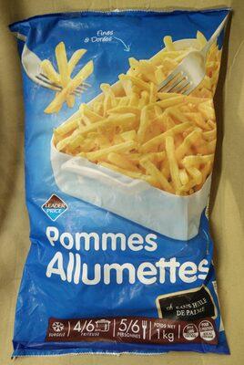 Pommes allumettes - Produit - fr