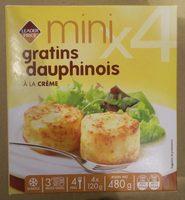 4 Mini Gratins Dauphinois à la Crème - Product