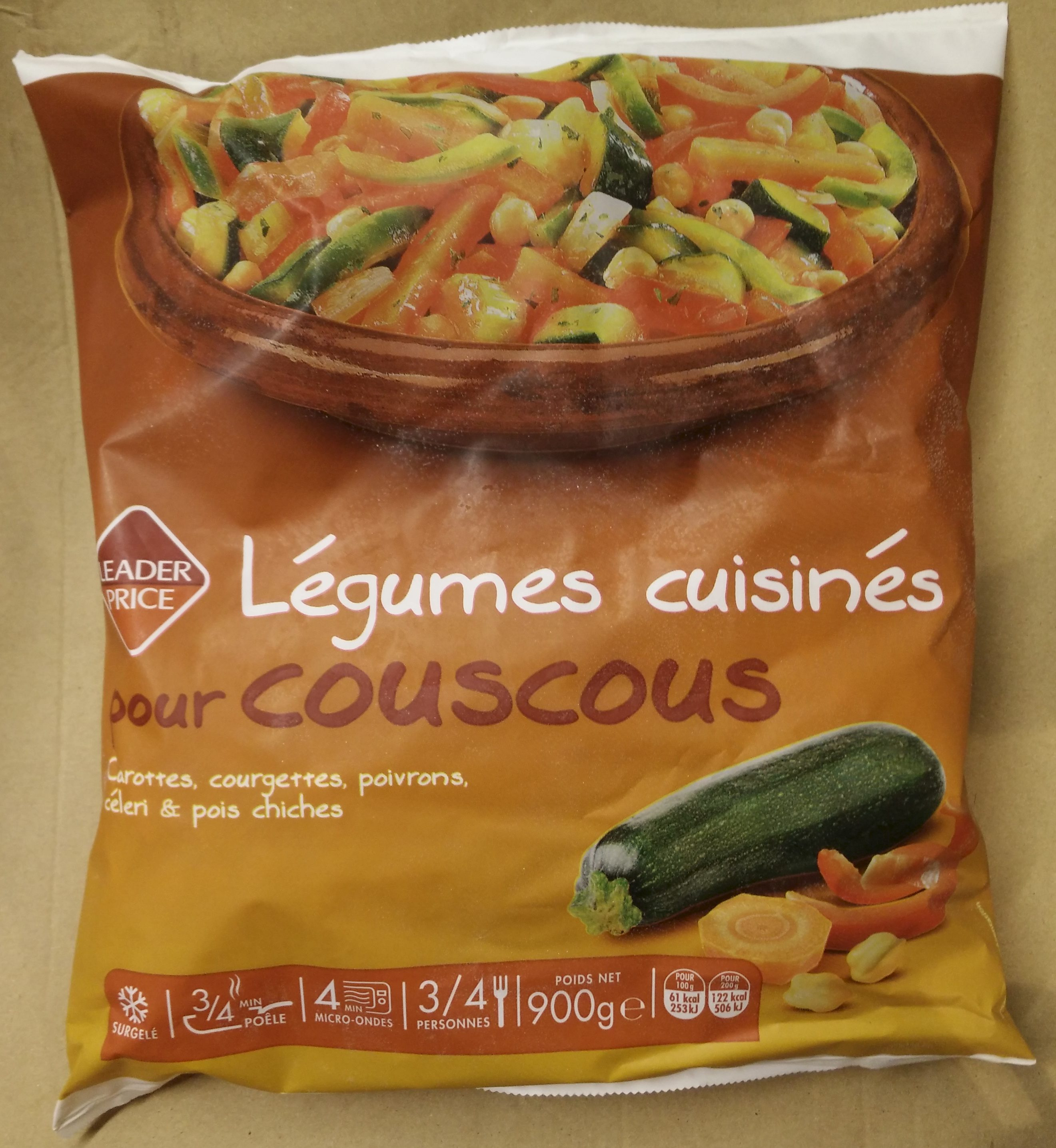l gumes cuisin pour couscous leader price 900 g. Black Bedroom Furniture Sets. Home Design Ideas