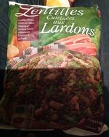 Lentilles cuisinées aux lardons - Product - fr