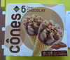 6 Cônes Chocolat - Produit