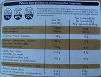 6 Cônes Chocolat - Informations nutritionnelles - fr