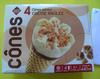 4 Cônes Crème brûlée - Product