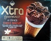 Xtra Gourmand - 4 Cônes Choco Biscuit - Product