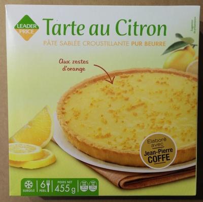 Tarte au citron pâte sablée croustillante pur beurre - Produit - fr