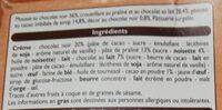 Croustillant - Ingrédients - fr