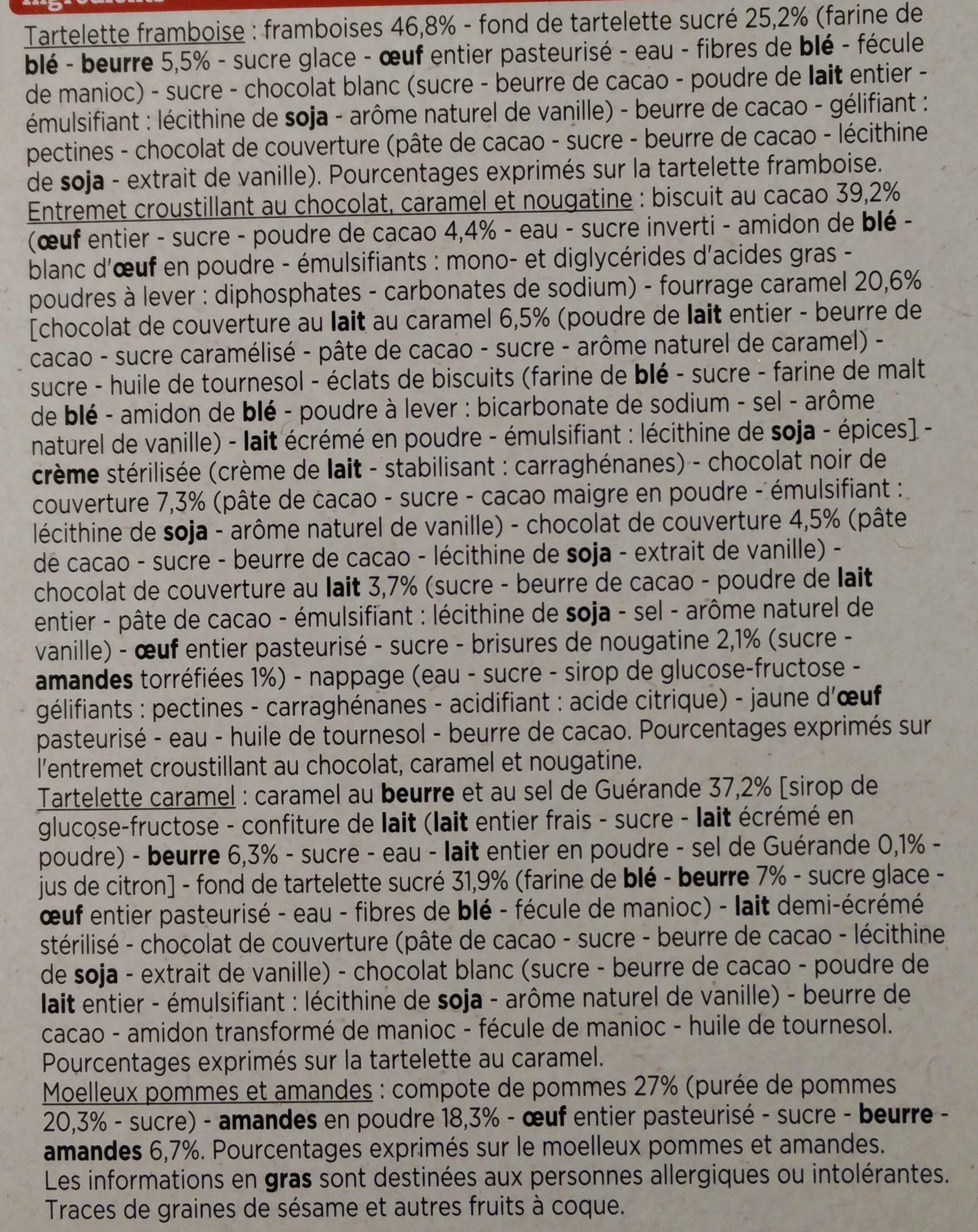 Mignardises - Ingrédients - fr
