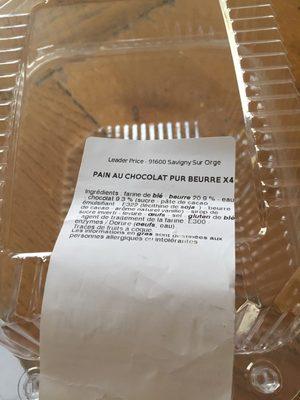 Pains au Chocolat Pur Beurre - Prodotto - fr