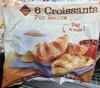 6 Croissants Pur Beurre - Product