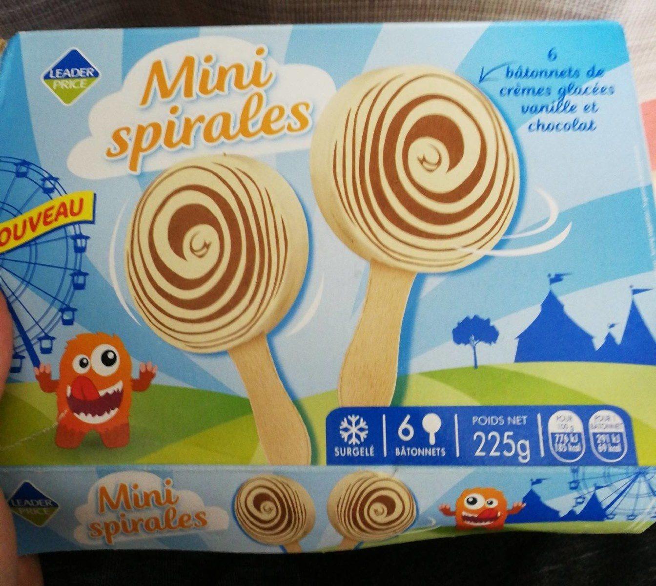 Mini spirales - Prodotto - fr