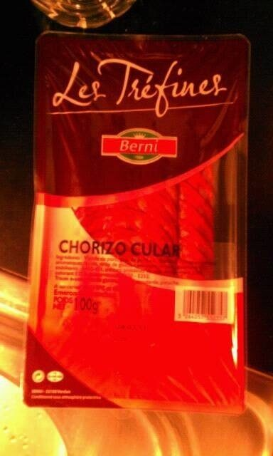 Chorizo Berni 20 tranches - Produit - fr