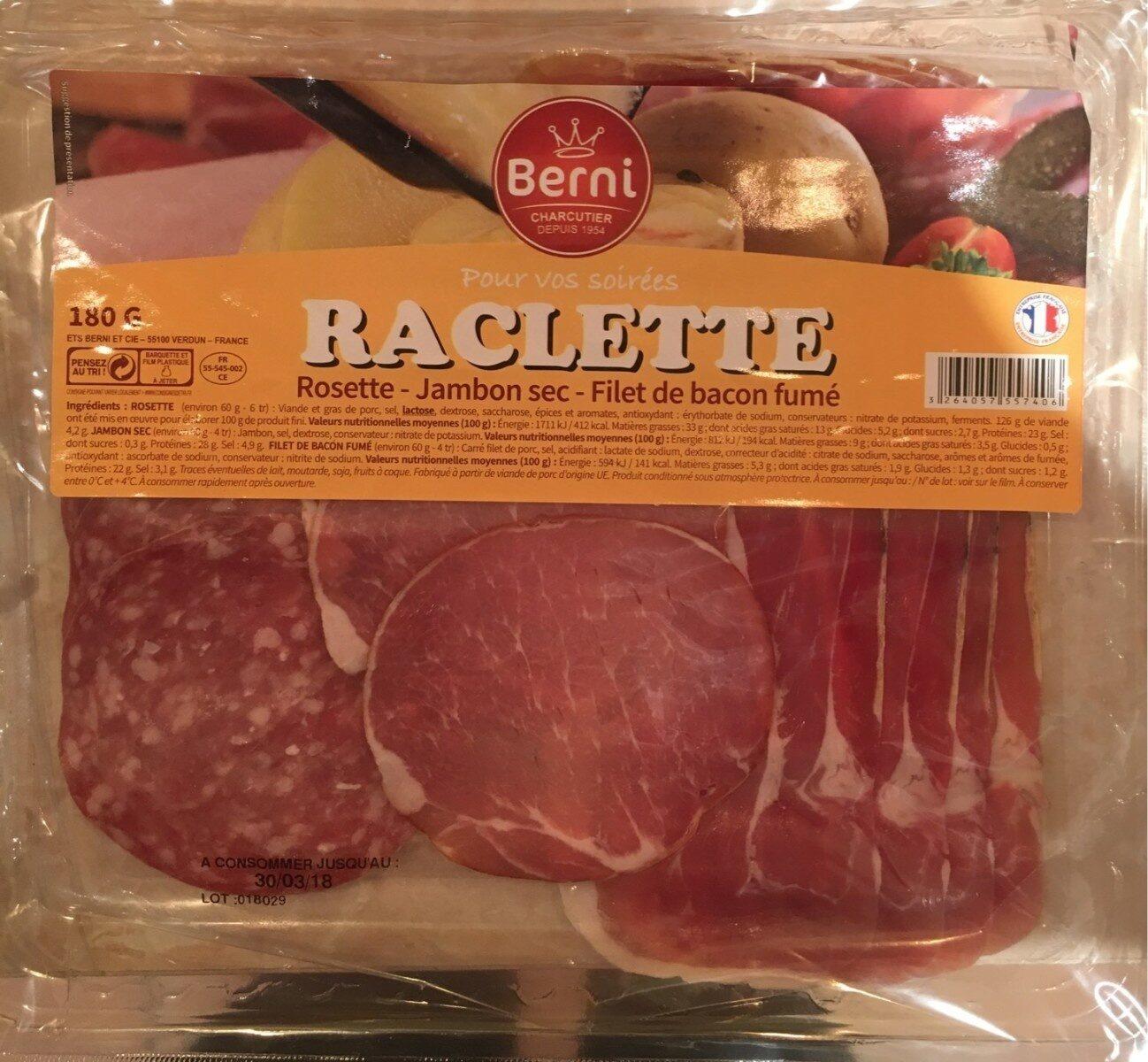 Raclette charcuterie - Produit - fr