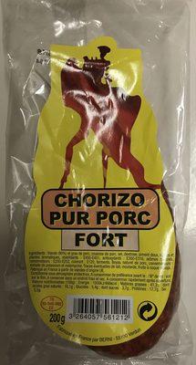 Chorizo pur porc Fort - Produit