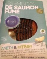 Emincés de saumon fumé aneth & citron - Produit - fr