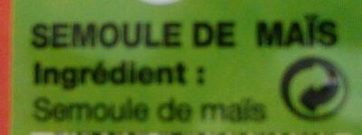 Maïs sosso - Ingredients - fr