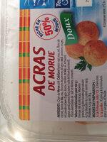 Acras de morue - Ingredients - fr