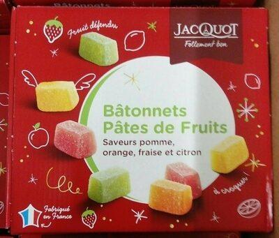 Bâtonnets pâtes de fruits - Produit - fr
