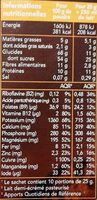 Germacao - Nutrition facts - fr
