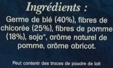 Germafibre - Ingrediënten
