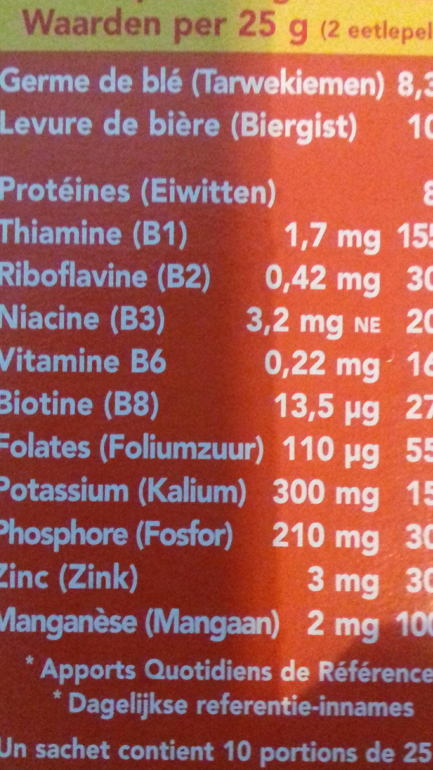 Germalevure - Ingredients