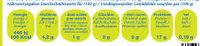 Eperlans 1KG - Surgeles - Informations nutritionnelles - fr